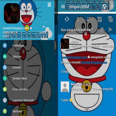 BBM MOD Doraemon Blue v3.0.1.25 APK Terupdate