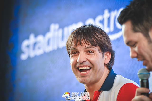 Fernando Morientes at Sunway Pyramid for Astro UEFA EURO 2016 Kick Off and Meet and Greet