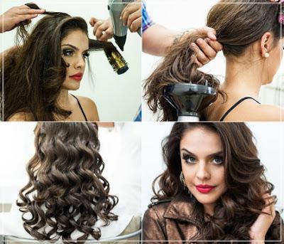 cara curly yang benar