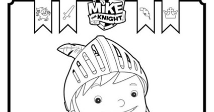 mike the knight coloring pages - printable mike the knight coloring pages colouring for kids