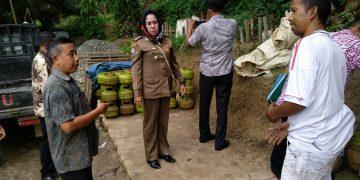 Tim dari Pemkab Asahan mendatangi agen dan pangkalan penjual elpiji 3 kg