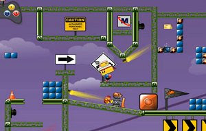 Blockhead freeware PC platform game