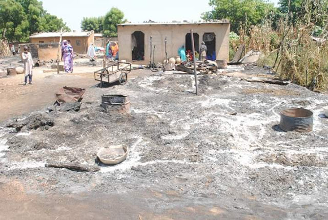 Photos: Boko Haram kill one, displace 1,300 in Borno fresh attacks