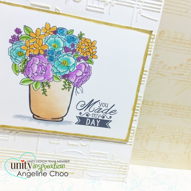 ScrappyScrappy: You made my day #scrappyscrappy #unitystampco #card #copic