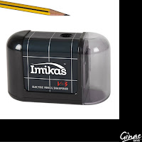 Battery Operated ImiKas Pencil Sharpener