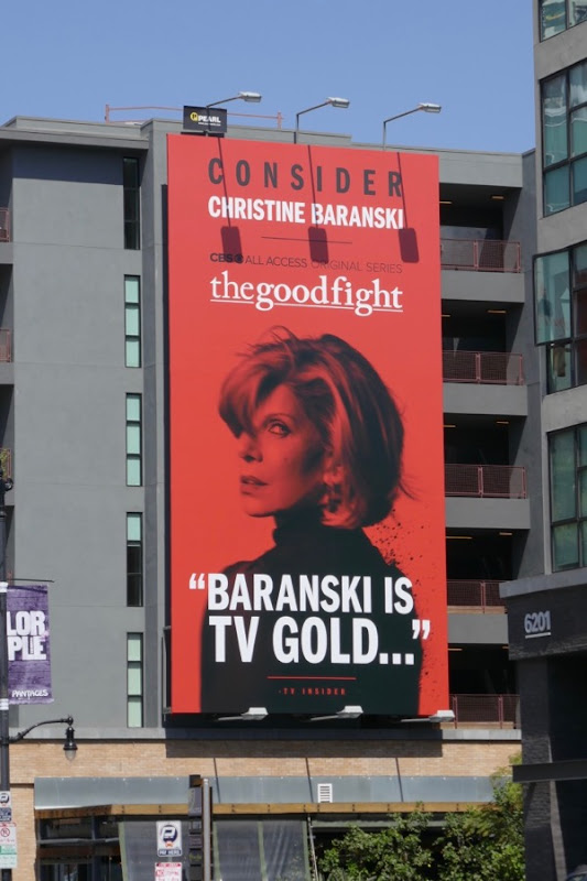 Consider Christine Baranski Good Fight 2018 Emmy billboard
