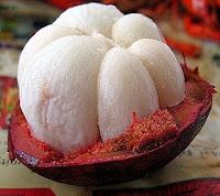 buah manggis yang manis dan bermanfaat
