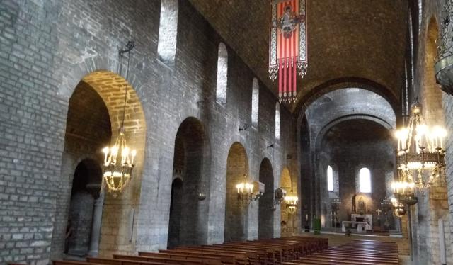 Vista interior de l'església