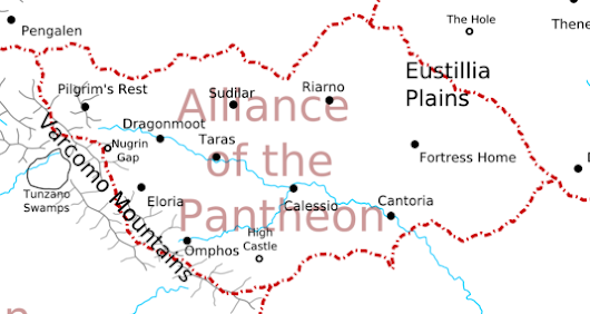 Regions of Urbis - Alliance of the Pantheon