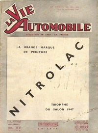 LA VIE AUTOMOBILE