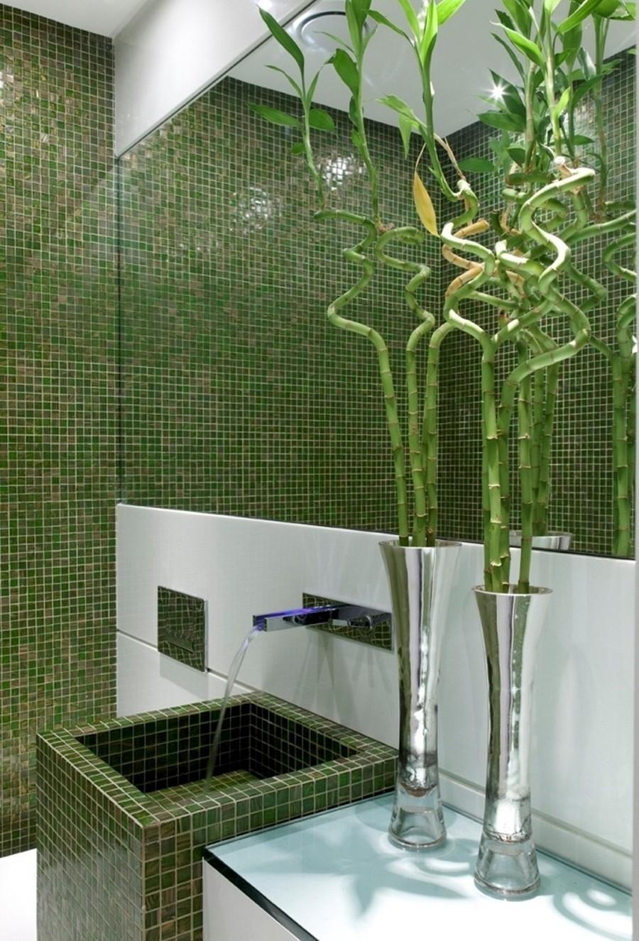 Ideias De Decoração De Banheiros Com Pastilhas : Construindo minha casa clean banheiros decorados com