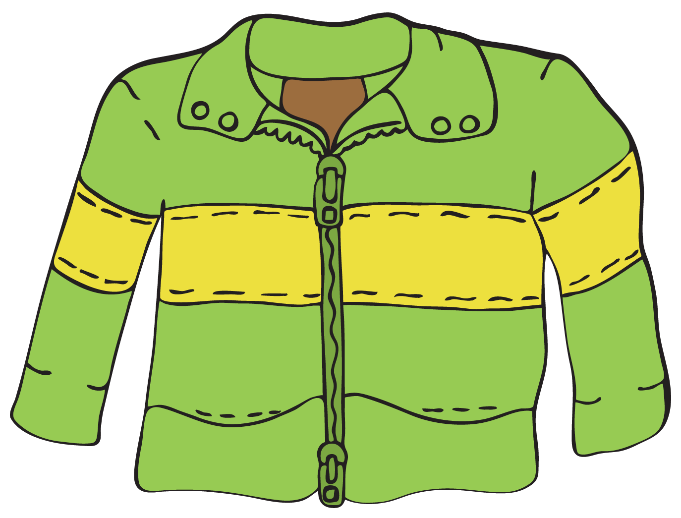 clipart of a jacket - photo #10