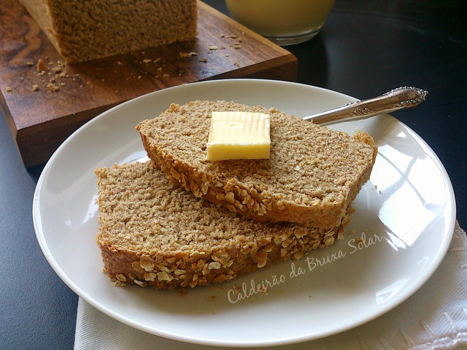 Pão integral com gérmen de trigo