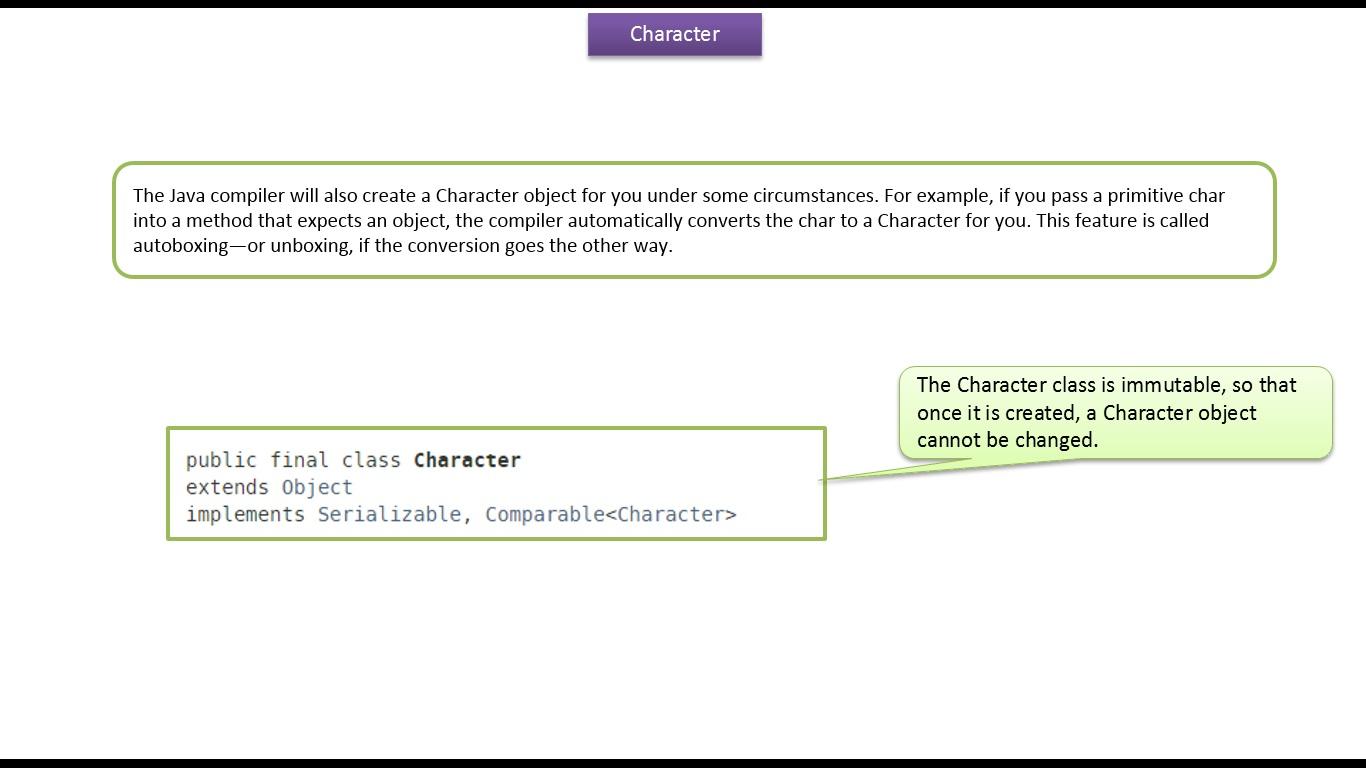 Java ee java tutorial java wrapper class character java tutorial java wrapper class character baditri Images