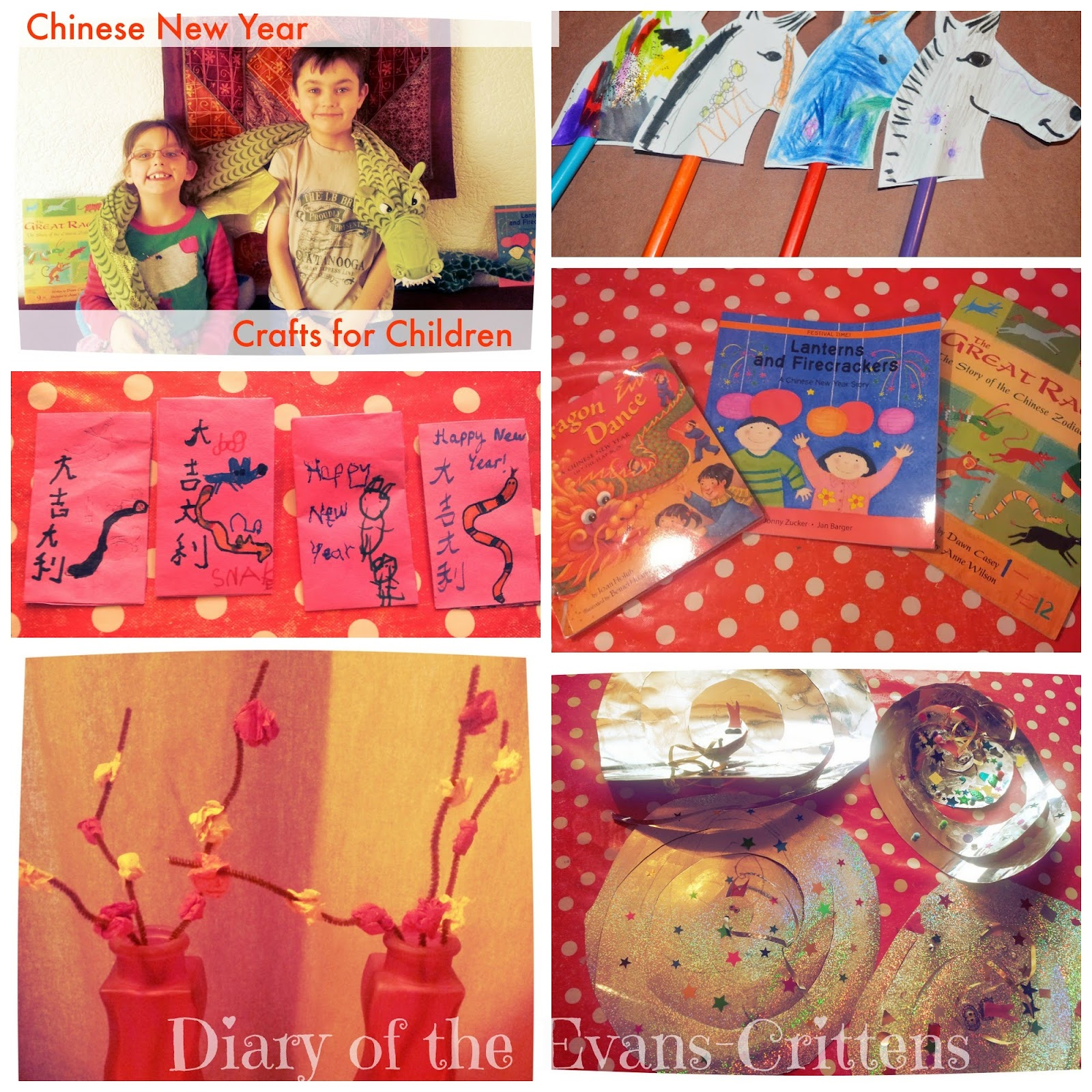 Chinese New Year Crafts for Kids Children