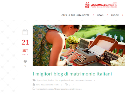 i migliori wedding blog italiani