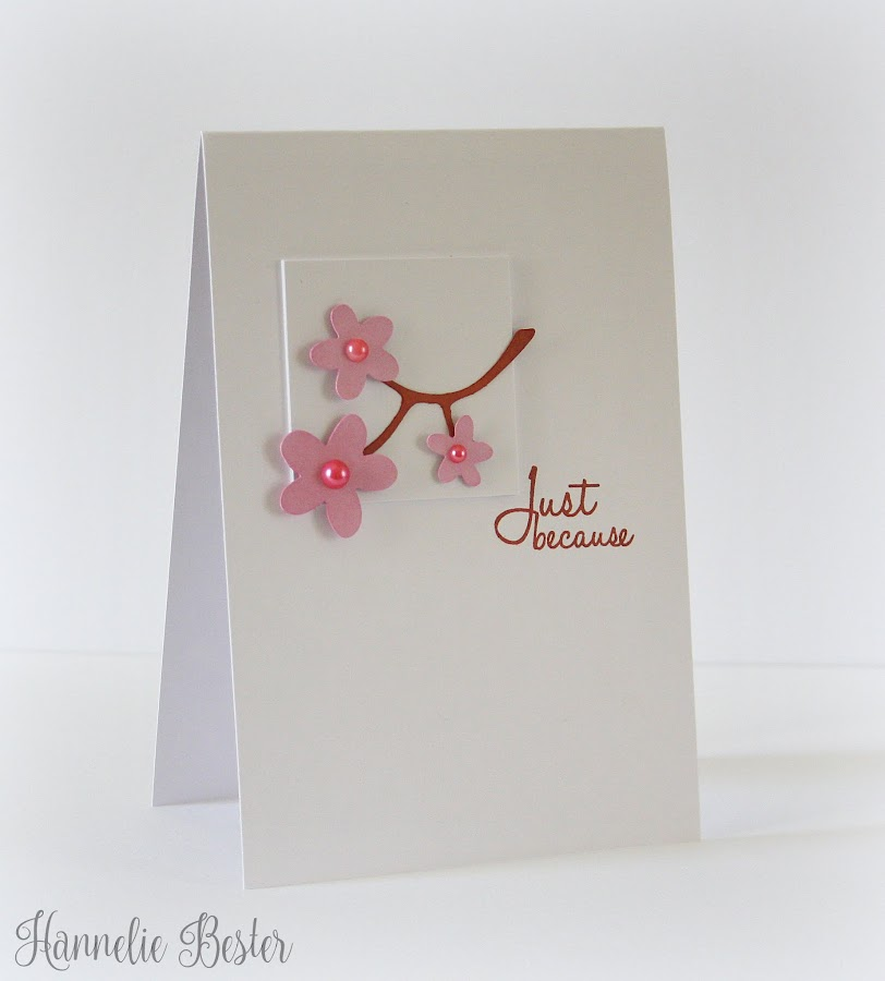CAS Spring inspired card