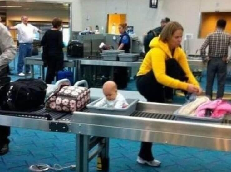 Situações inusitadas dentro de aeroportos