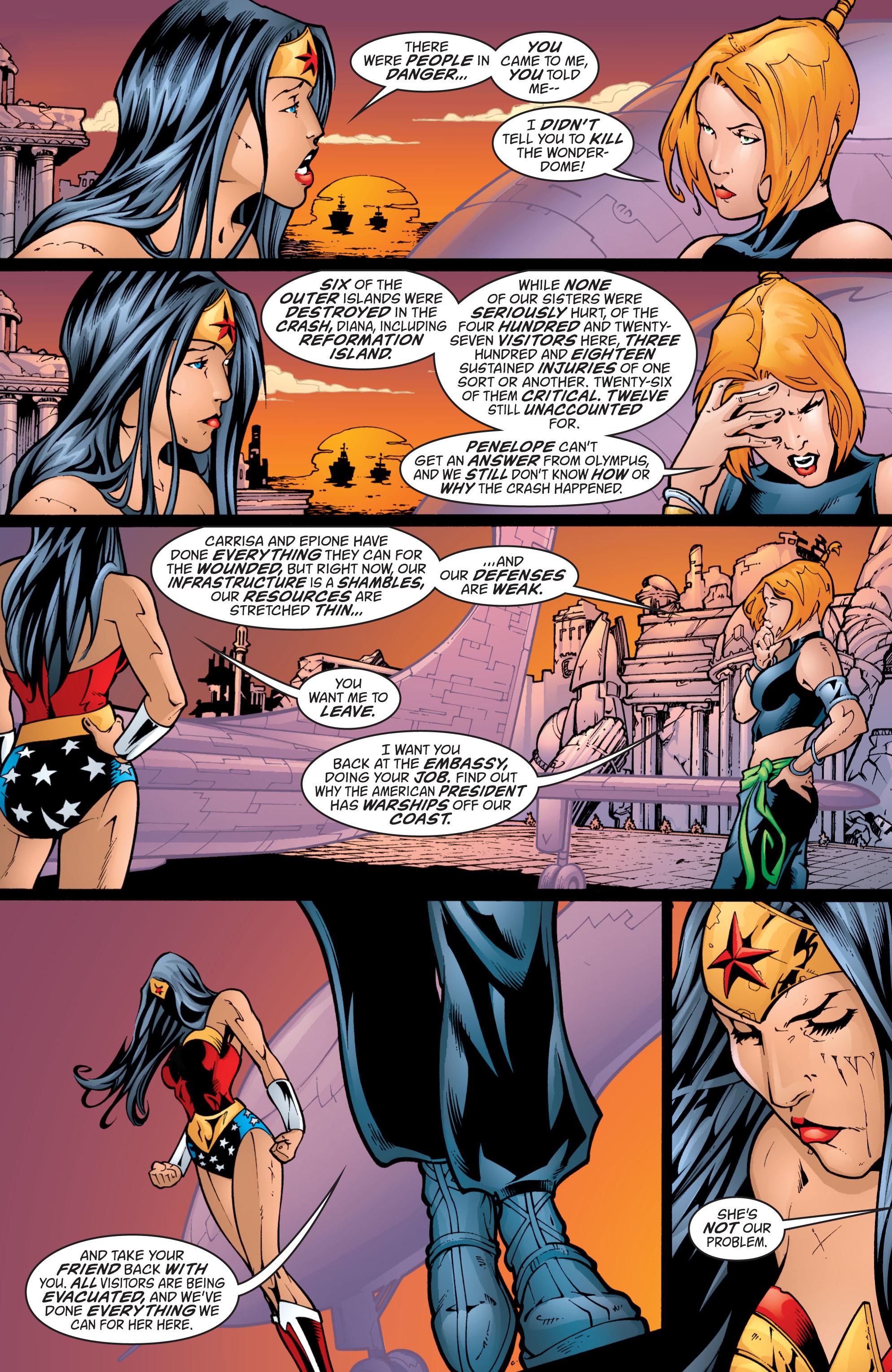 Read online Wonder Woman (1987) comic -  Issue #201 - 19