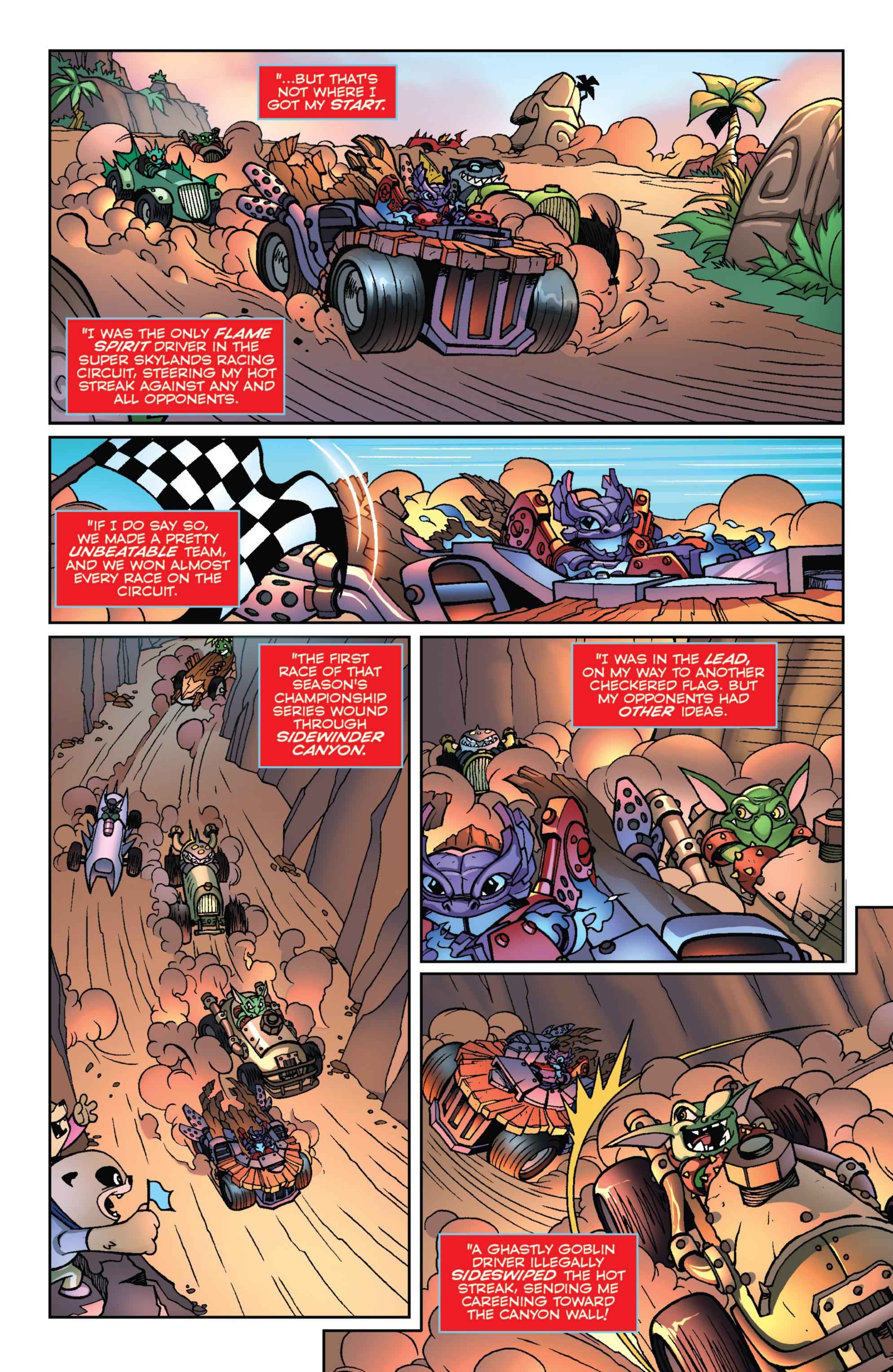 Read online Skylanders Superchargers comic -  Issue #1 - 21