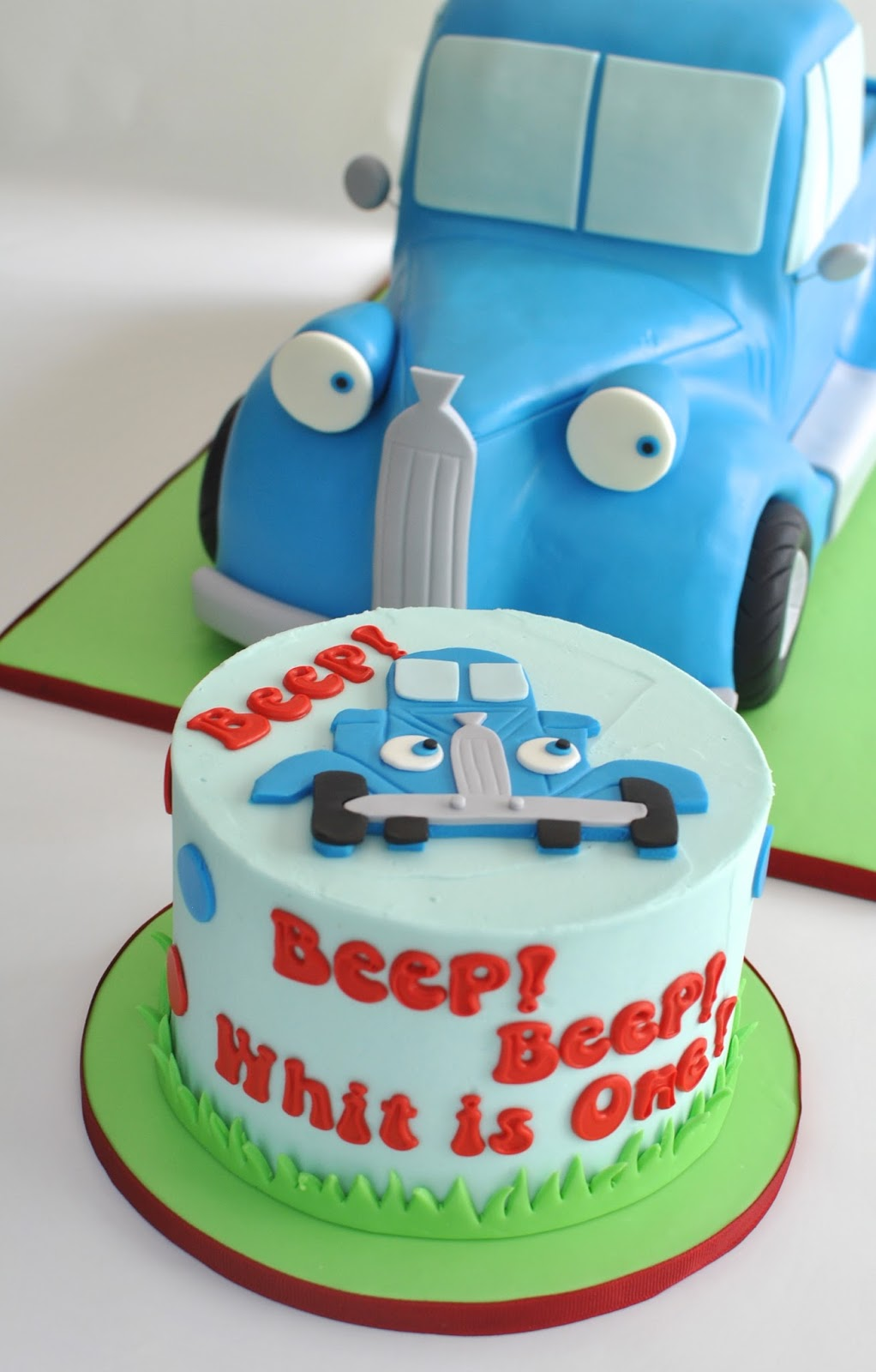 Hope S Sweet Cakes Little Blue Truck Cake