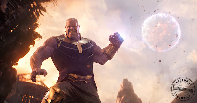Avengers Infinity War Thanos throws moon