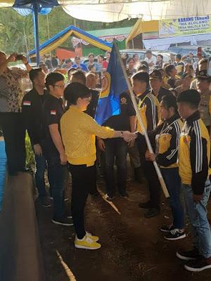 Tetty Paruntu Buka Jambore Karang Taruna