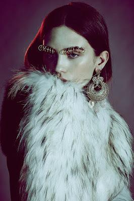 Piercings Tattoos Septum Rings Beauty Trends Editorial With Model Cleo Cwiek