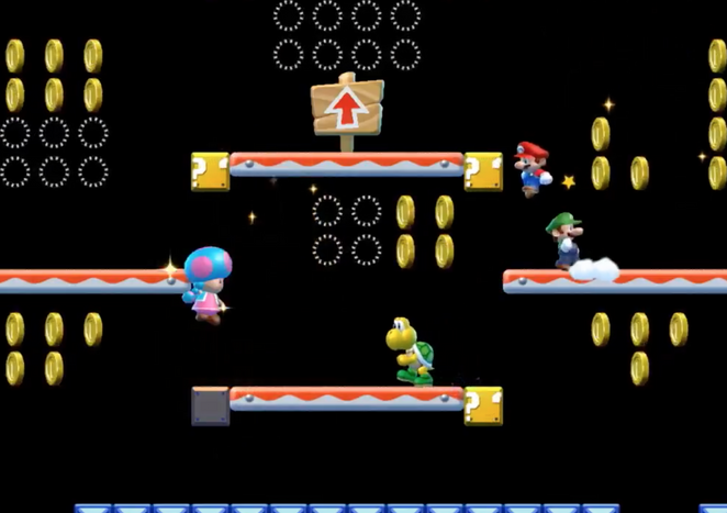 Review New Super Mario Bros U Deluxe Nintendo Switch