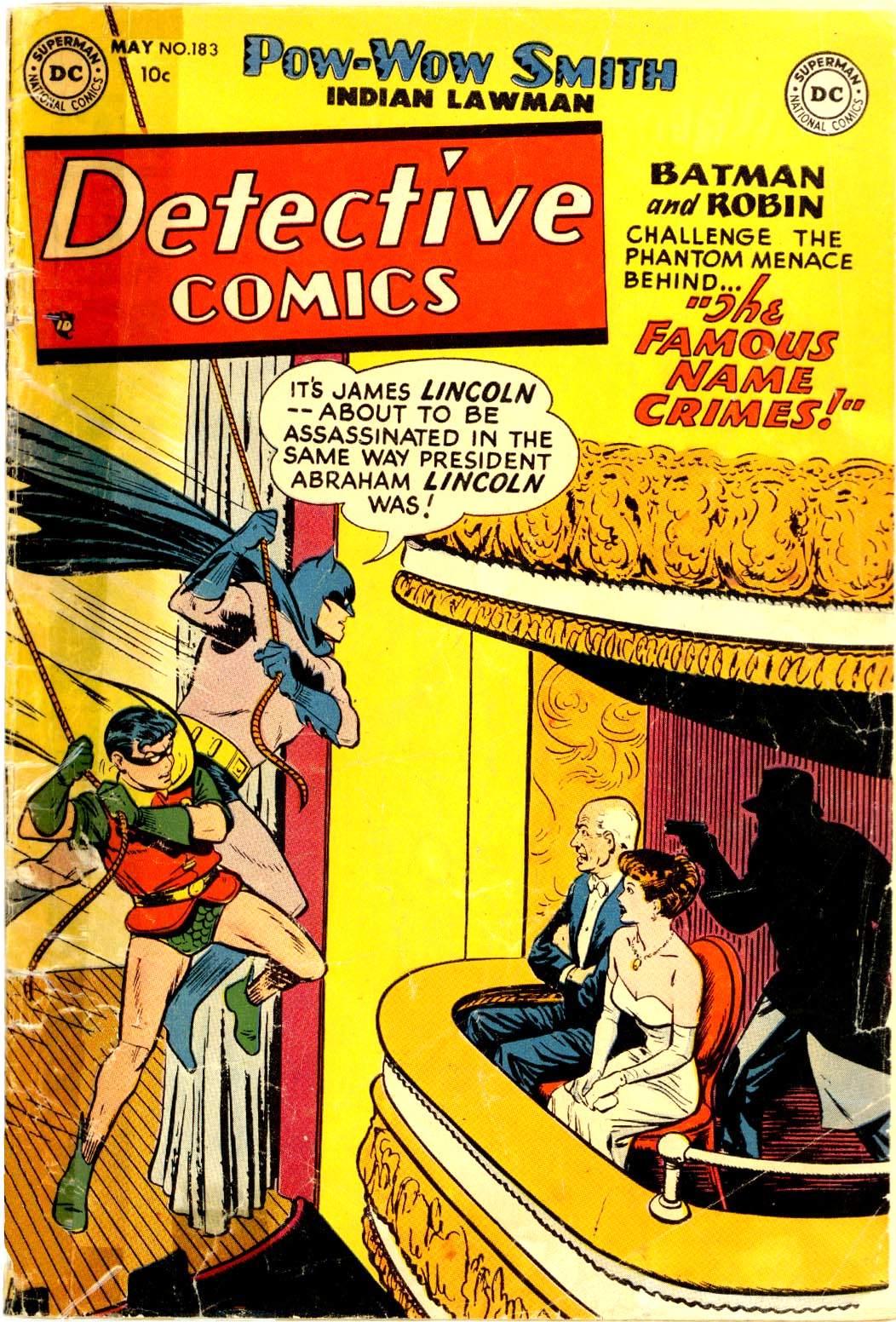 Detective Comics (1937) 183 Page 0