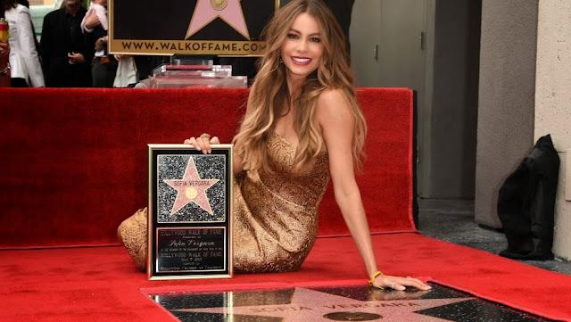 sofia vergara estrella paseo de la fama hollywood