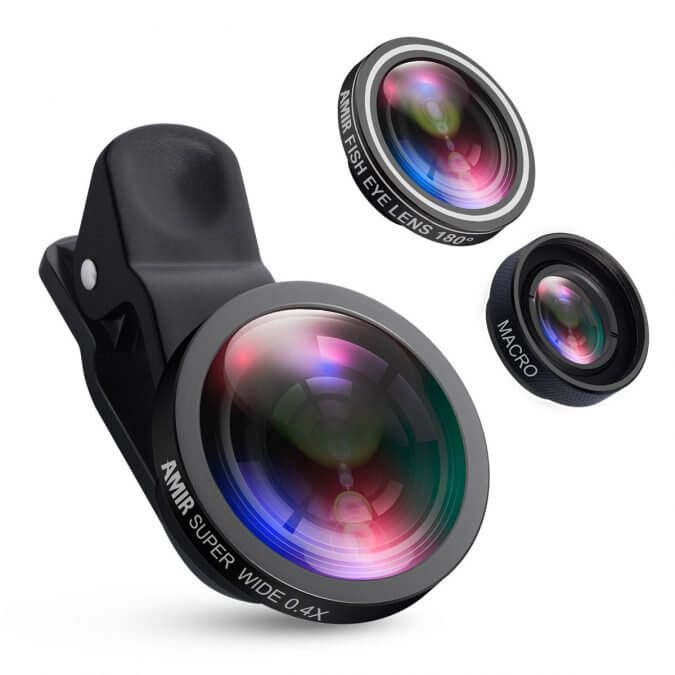 20 Smart Gadgets on Amazon That Make Life More Comfortable - AMIR Camera Lens Kit