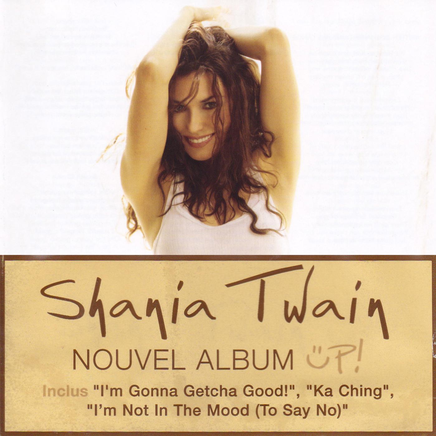 Shania Twain Discography Up Album