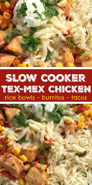 Slow Cooker Tex-Mex Chicken