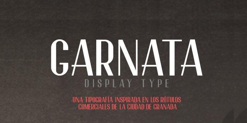garnata-free-font