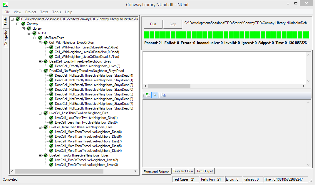 Jeremy Bytes: Integrating NUnit into Visual Studio Test Explorer