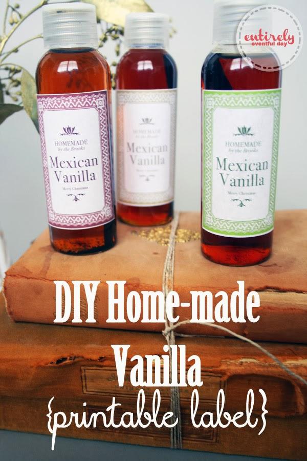 Homemade Vanilla Recipe