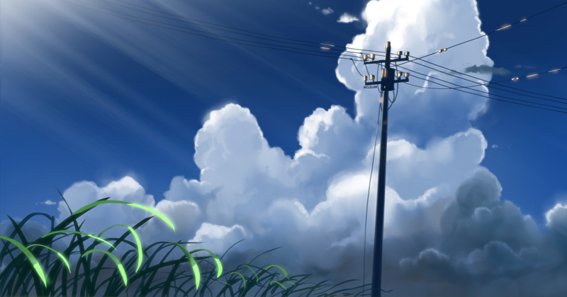 Makoto Shinkai Style Artwork