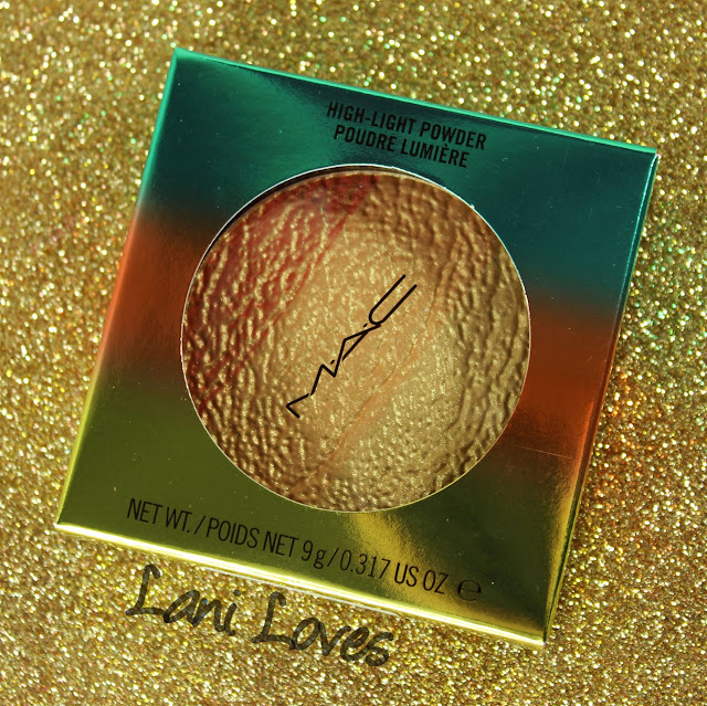MAC Monday: Wash & Dry - Freshen Up Highlight Powder Swatches & Review