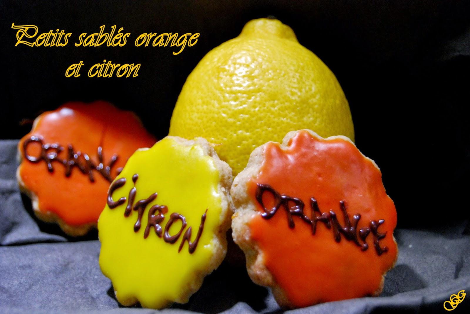 Sablés Orange et Citron