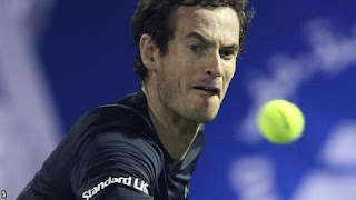 Murray wins, wawrinka upset in Dubai