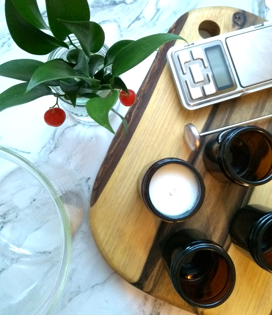 DIY świece zapachowe jak zrobić
