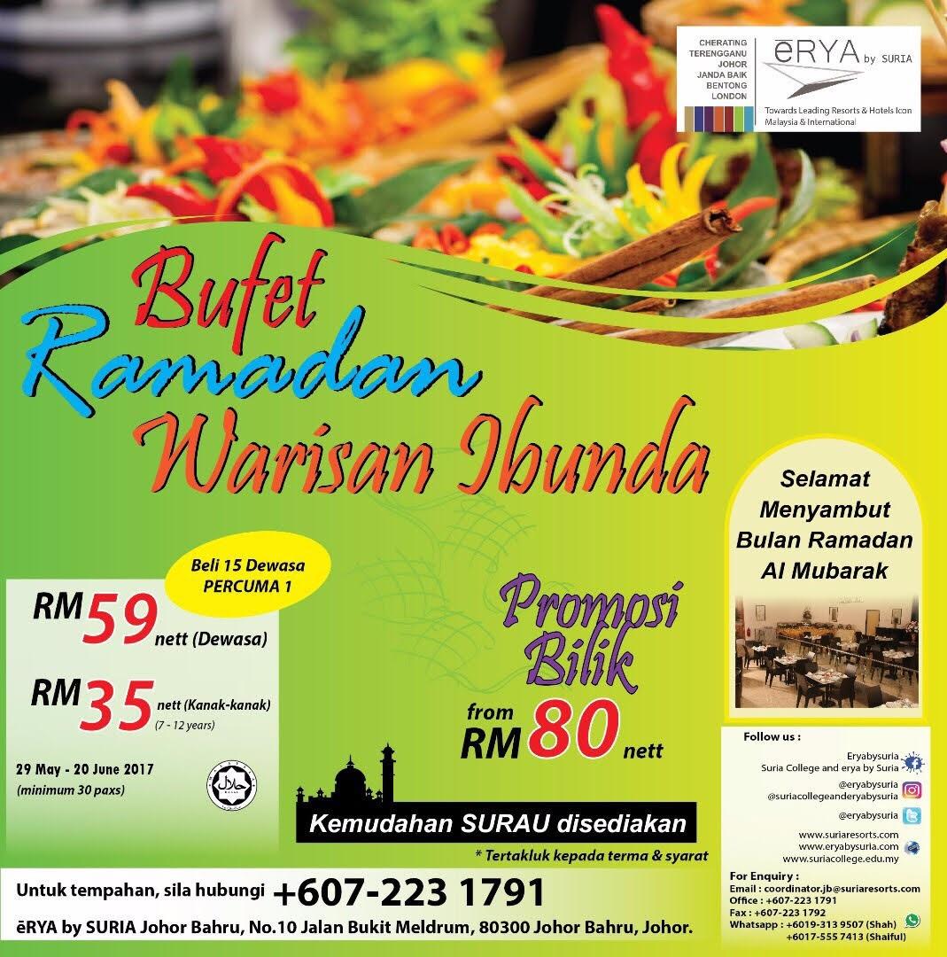 buffet ramadhan erya bu suria jb