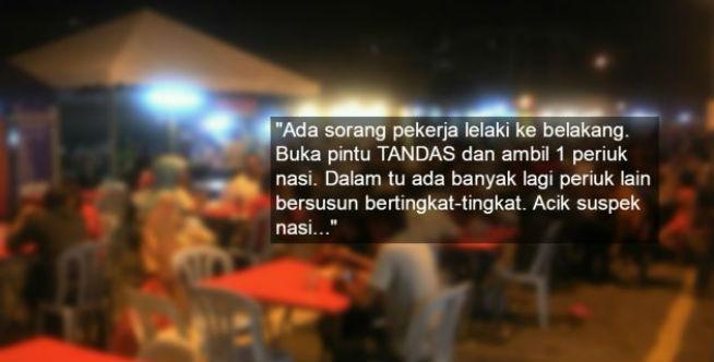 HATI-HATI Saat Makan di Warung, Ini Pengalaman 'NGERI' Wanita Ini Makan di Warung Pakai Pelaris