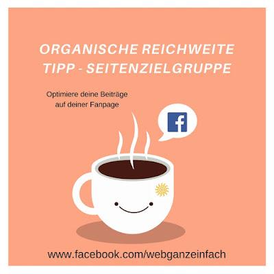 Facebook Tipp für mehr organische Reichweite