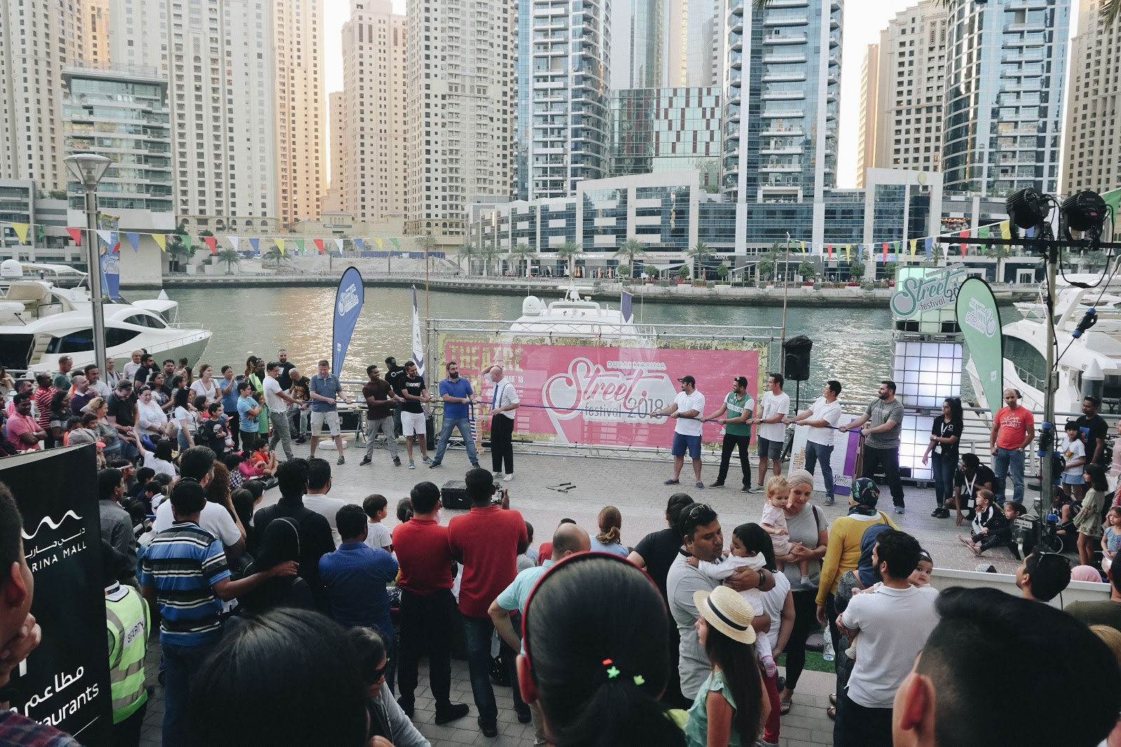 dubai marina street festival photo