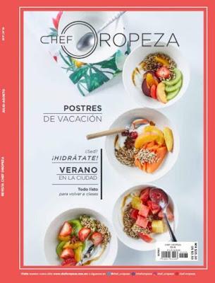 Chef Oropeza - Julio - Agosto 2017