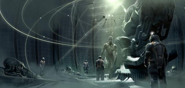 Concept art Alien: Covenant
