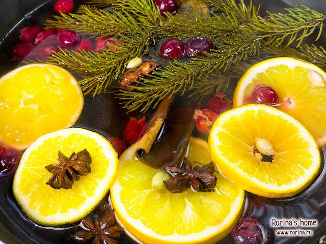 Новогодние ароматы для дома своими руками