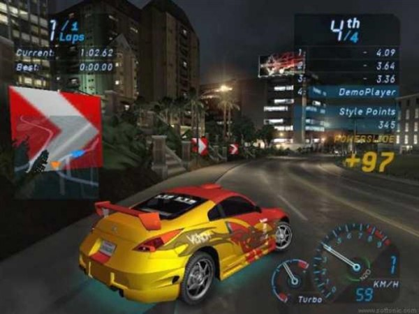 Need For Speed Underground 1 Game